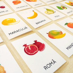 FLASHCARDS FRUTAS