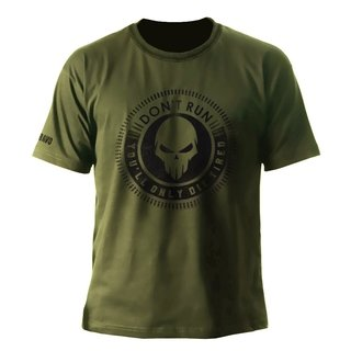 CAMISETA DON'T RUN - BRAVO MILITAR