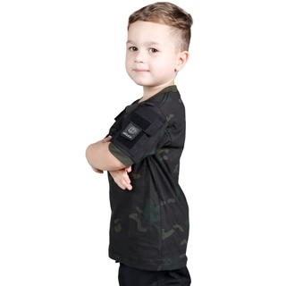 Camiseta Ranger Kids Bélica - Multicam Black