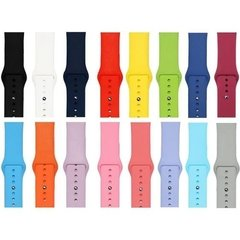 Pulseira Apple Watch Sport Silicone 38mm 40mm - comprar online