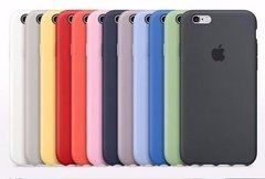 Capinha Capa Case Silicone Apple Iphone 6 Plus 6s Plus - comprar online