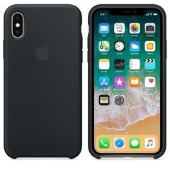 Kit Capa Case Silicone Apple Iphone X Xs + Película Vidro 3d