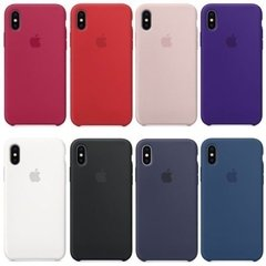 Capinha Silicone Capa Case Apple Iphone Xs Max na internet