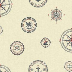 WALLPAPER NAUTICAL NY4808
