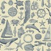 WALLPAPER NAUTICAL NY4820