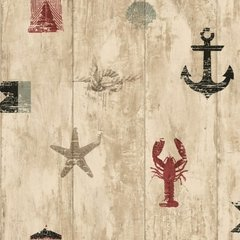 WALLPAPER NAUTICAL NY4883