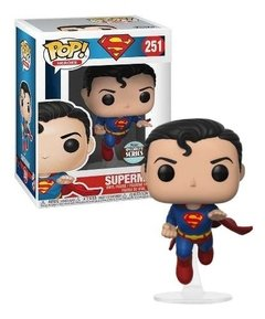 Superman Funko Pop Figura Muñeco Specialty Series Dc 80 Años