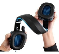 Auricular Headset Gamer Sades Wolfang Sa-901 Usb 7.1 Pc