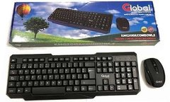 Kit Teclado Y Mouse Combo Inalámbrico A Pilas Wireless