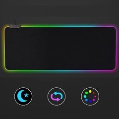 Mouse Pad Gamer Luz Led Rgb 7 Colores Usb 800x300mm Gms-x5 - comprar online