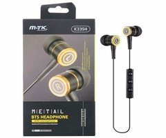 Auricular In Ear M-tk K3394 Bluetooth 4.0 Running Deportes