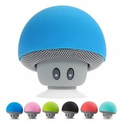 Mini Parlante Bluetooth Honguito Colores Sopapa Inalambrico - dotPix Store