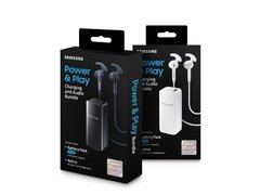 Kit Auricular Active + Power Bank Samsung 2100mah Original