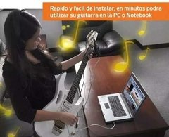 Interfaz Interface Adaptador Guitarra Bajo Usb Guitar Link - dotPix Store