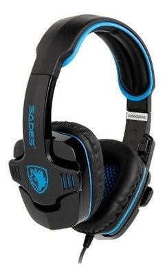 Auricular Headset Gamer Sades Wolfang Sa-901 Usb 7.1 Pc en internet