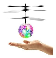 Esfera Voladora Mini Drone Con Luces Led Tt-308 Interior Ext