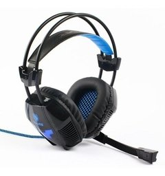 Auricular Gamer para pc Sades Xpower Plus Sa-706s Usb Pc Ps4 con microfono