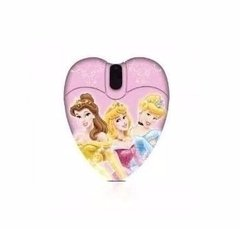 Mouse Óptico Usb Disney Princesas Mini Cable Retráctil - comprar online