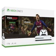 Consola Xbox One S 1tb + Juego Pes 2019 Arg Microsoft Hdr 4k - comprar online
