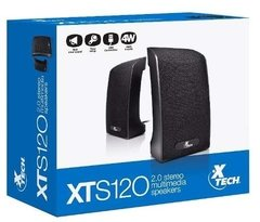 Parlantes Pc Xtech 2.0 Usb 4w Xts120 Color Negro Notebook en internet