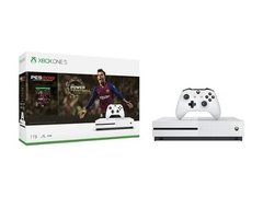 Consola Xbox One S 1tb + Juego Pes 2019 Arg Microsoft Hdr 4k