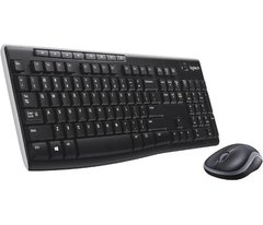 Combo Mouse + Teclado Logitech Inalambrico Wireless Mk270