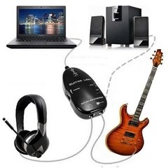 Interfaz Interface Adaptador Guitarra Bajo Usb Guitar Link