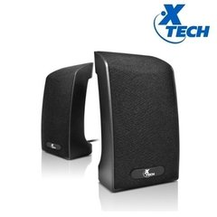 Parlantes Pc Xtech 2.0 Usb 4w Xts120 Color Negro Notebook