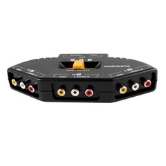 Llave Selectora Audio/video De 3 A 1 Megalite B1248 Switch - tienda online