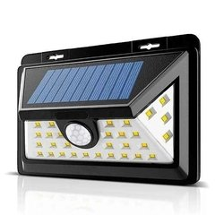Reflector Luz Led Panel Solar Sensor Movimiento Resist Agua