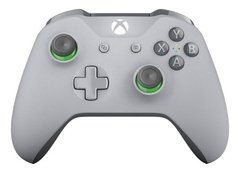 Joystick Xbox One Inalambrico Bluetooth Grey & Green