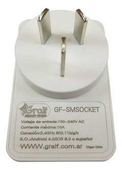 Enchufe Inteligente Wifi Gralf Gf-smsocket Domotica Smart en internet