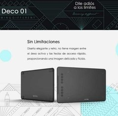 Tableta Grafica Digital Xp Pen Deco 01 v2 Usb Dibujo 25x15cm - dotPix Store