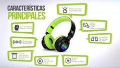 Auriculares Bluetooth Klip Xtreme Blast Ranura Sd Luces Led en internet
