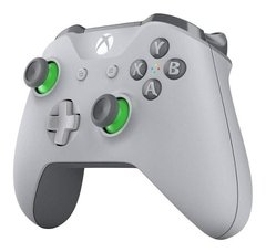 Joystick Xbox One Inalambrico Bluetooth Grey & Green - comprar online