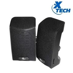 Parlantes Pc Xtech 2.0 Usb 4w Xts120 Color Negro Notebook - comprar online
