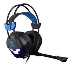 Auricular Gamer para pc Sades Xpower Plus Sa-706s Usb Pc Ps4 con microfono - dotPix Store