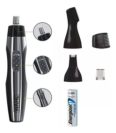 Trimmer Wahl 3 En 1 Corta Pelo Nariz Oreja Lighted Detailer - comprar online