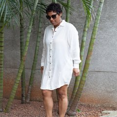 Chemise Patti Voil Off White na internet