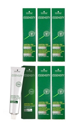 Kit 6 Tinturas Essensity Sin Amoniaco Schwarzkopf X60gs