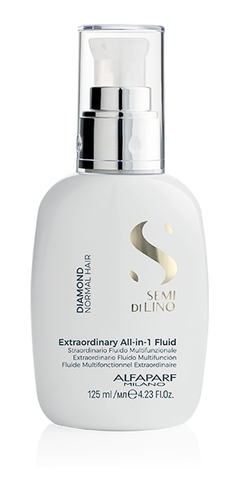All In One Fluid Semi Di Lino 125ml Alfaparf Sin Sulfatos