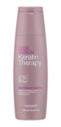 Shampoo Maintenance Keratin Therapy Alisado 250ml Alfaparf