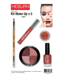 Kit Make up x5 - Heburn