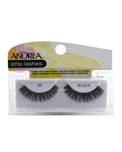 Pestañas stip lashes 26 black - andrea