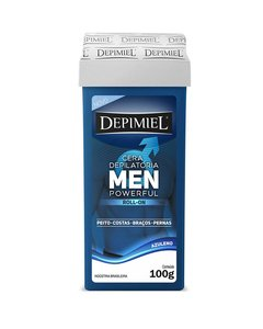 CERA DEPILATORIA ROLL-ON HOMBRE 100GR - DEPIMIEL