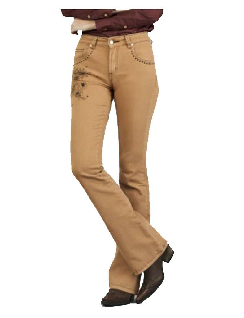 157df943b Calça Jeans Dock s Feminina Flare com Elastano caramelo