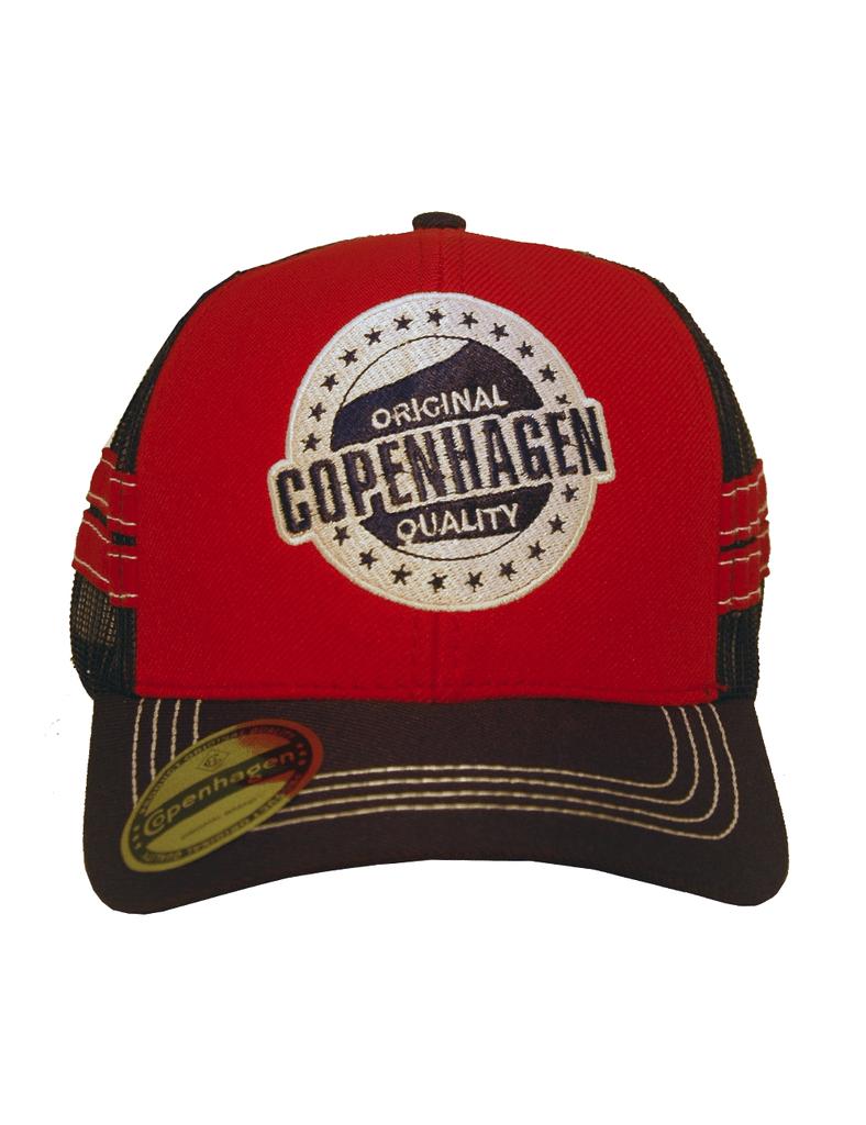 Boné Vermelho Copenhagen Original Quality