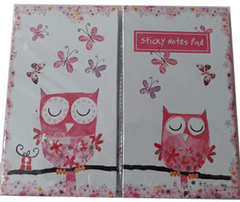 Sticky Notes Pad - Coruja