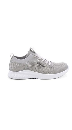 Zapatilla Mujer Hush Puppies Selly Gris Livianas Sport