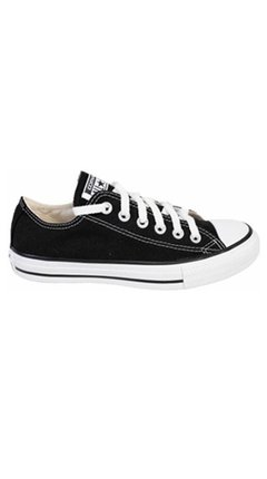 Zapatillas Converse Chuck Taylor All Star Lona Negra